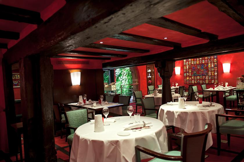 La table du gourmet restaurant 1 stern michelin in 68340 - Restaurant riquewihr table du gourmet ...