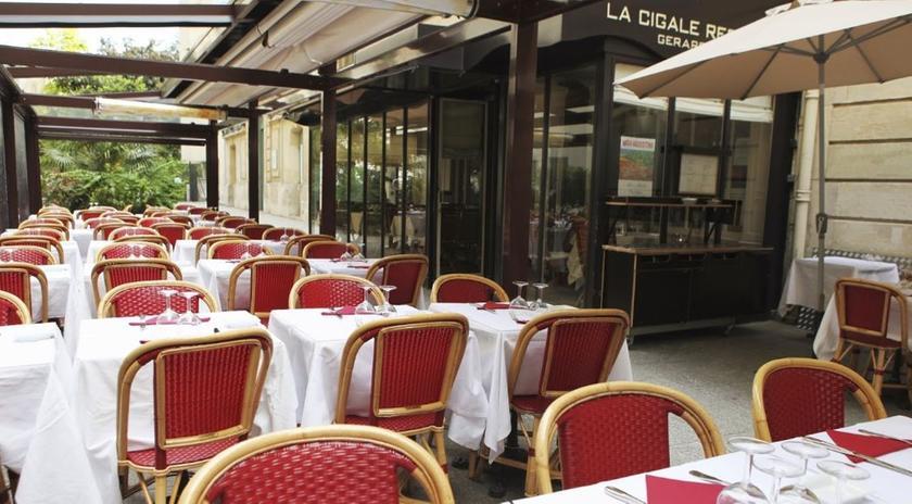 cigale r camier un restaurant du guide michelin 75007 paris 07. Black Bedroom Furniture Sets. Home Design Ideas