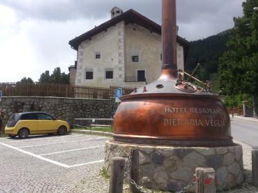 Schlarigna (Celerina) - bei der alten Brauerei (Biraria Veglia)