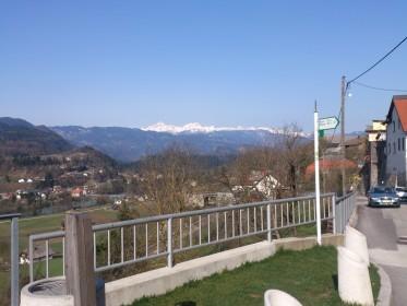 Radovljica - view to landscape