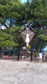 Sicilia - Castellammare del Golfo - statua di Gesù [