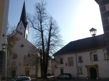 Radovljica - church