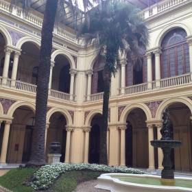 Casa Rosada- Patio de las Palmeras-