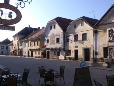 Radovljica - Main square