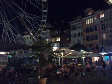 Thun - Mühleplatz - by night
