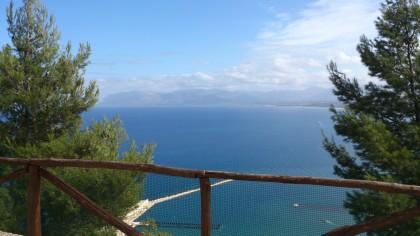 Sicilia - Castellammare del Golfo - vista sul mare