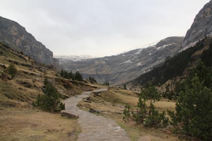 Camino en el valle