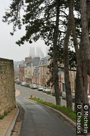 Vue sur le Boulevard Michelet