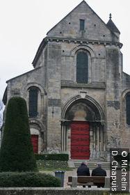Vue de la place Fernand Marquigny