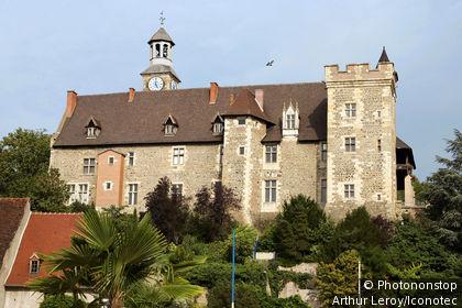 France, Allier (03), Auvergne, Montluçon, château des ducs de bourbon