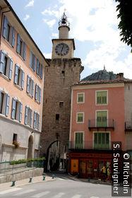 La porte de l'Annonciade , La Tour de l'Horloge