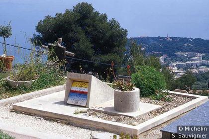 Tombe de Le Corbusier