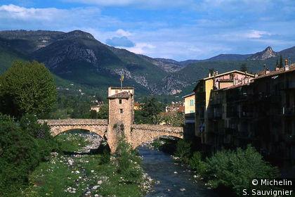 La Bévéra et le Pont-Vieux
