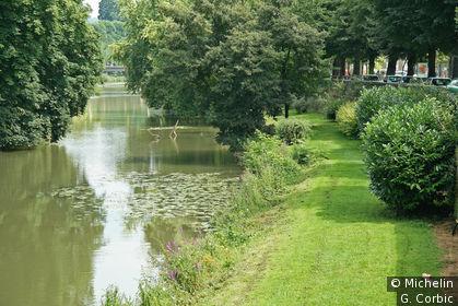 Les bords de la Meuse