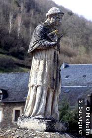 Statue de François d'Estaing , Pont gothique