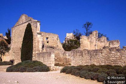 Ruines de l'Hôpital Quiqueran
