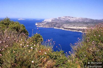 Vue Calanques Cap Canaille