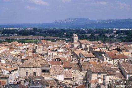 La ville vue depuis la tour du château
