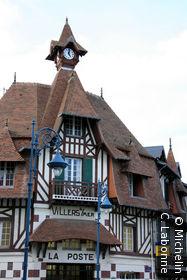 Architecture typique qu'est La Poste de Villers