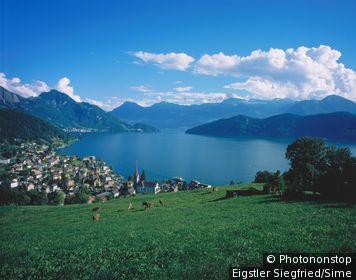 Lac des Quatre Cantons, vue de Weggis