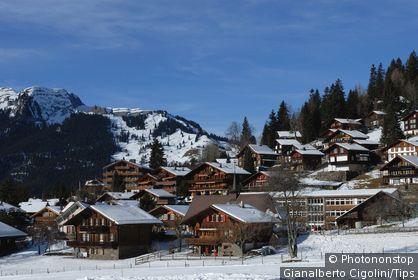Switzerland, Lauberhorn, Wengen