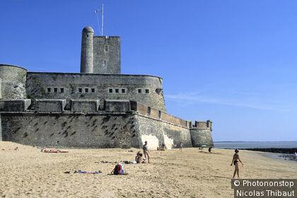 Fouras, le fort Vauban et la plage