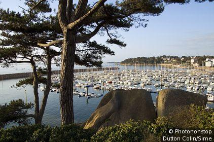 France, Bretagne, Trébeurden, Côtes-d'Armor - Harbour