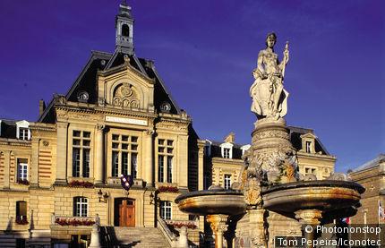 France, Eure (27), Haute Normandie, Evreux, l'hôtel de ville