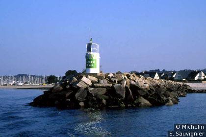 Fouesnant : départ du port de Beg-Meil