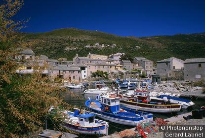 Cap Corse, Centuri, port et village