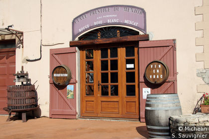 Vendeur de vin
