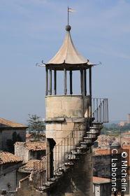 Ancienne tour de garde du Château