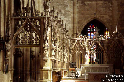 Cloture néogothique Cathédrale St Pierre
