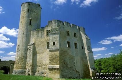 33. Entre Deux Mers, Rauzan, ruines du château des Duras (XIIIe/XVe siècle)