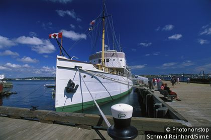 Canada, Nova Scotia, Halifax, Harbor and Maritim Museum