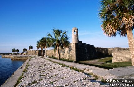 Castillo de San Marcos National Monument. St Augustine, Florida, United States of America