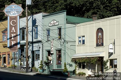 USA, Washington state, Port Townsend. Historic district