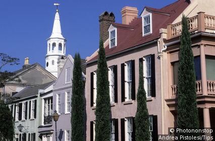 USA, South Carolina, Charleston, old town