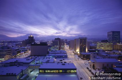 United States, USA, Alaska, Anchorage, Anchorage