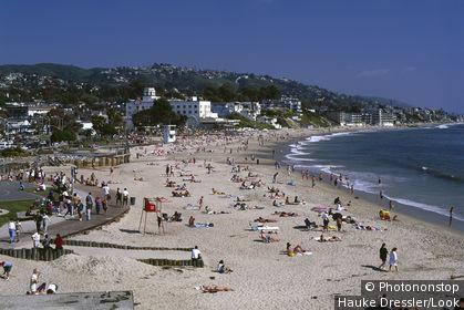Laguna beach, Los Angeles, USA