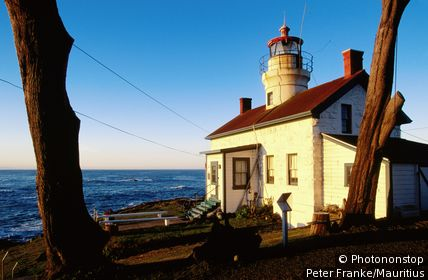 Lighthouse Museum (1856). Crescent City, California, United States of America