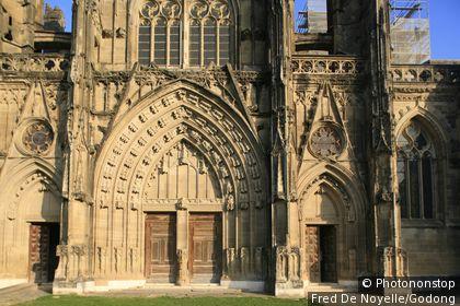 France, Isère, Saint-Antoine l'Abbaye, Abbey Saint Antoine