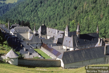 Massif de la Chartreuse (parc naturel regional), Saint Pierre de Chartreuse, le couvent de la Grande Chartreuse