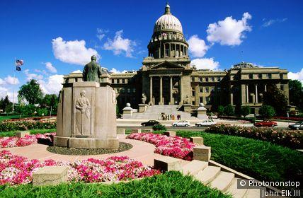Idaho State Capitol. Boise, Idaho, United States