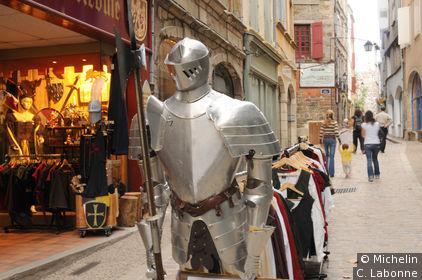 Marchand d'accessoirs du Moyen-Age