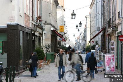 La rue de Bourgogne