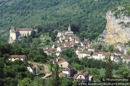 Lot - Vallée du Célé - Cabrerets