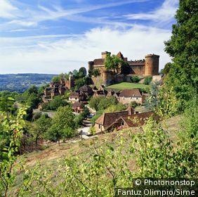 France, Midi-Pyrénées, Castelnau-Montratier, Lot - The Castle
