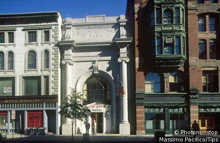 Usa, Massachusetts, Lowell, Hidreth Building
