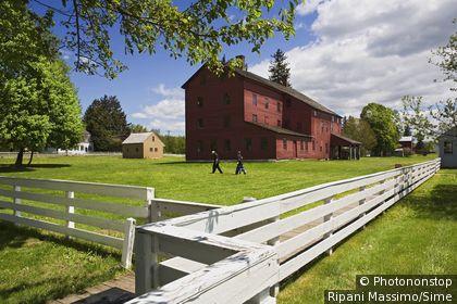 États-Unis, USA, Massachusetts, Pittsfield, Berkshires - Hancock Shaker village
